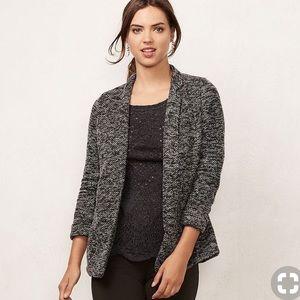 LC by Lauren Conrad knit blazer open cardigan XS